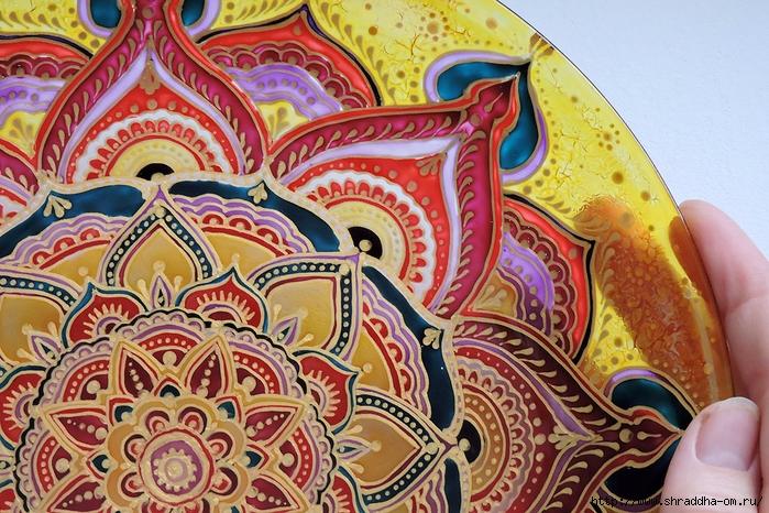 тарелка декоративная от Shraddha(3) (700x466, 383Kb)