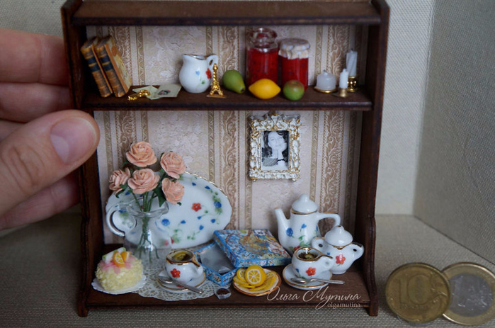 Ольга Мутина: миниатюры в коробочках