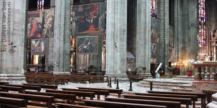 миланский кафедральный собор 11 (700x350, 377Kb)