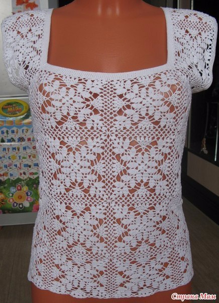 Страна мам вязание летних кофточек