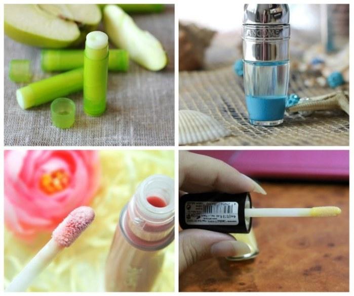 Как сделать свой блеск для губ в домашних условиях