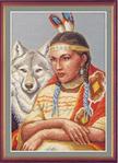 Превью З-005 Белая волчица (400x552, 231Kb)