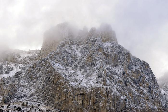 ай-петри зимой фото 1 (700x466, 327Kb)