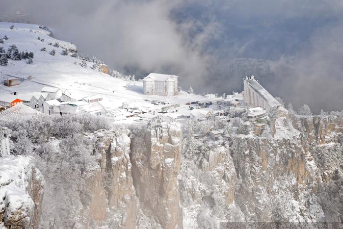 ай-петри зимой фото 6 (700x467, 332Kb)