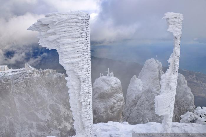 ай-петри зимой фото 8 (700x467, 273Kb)