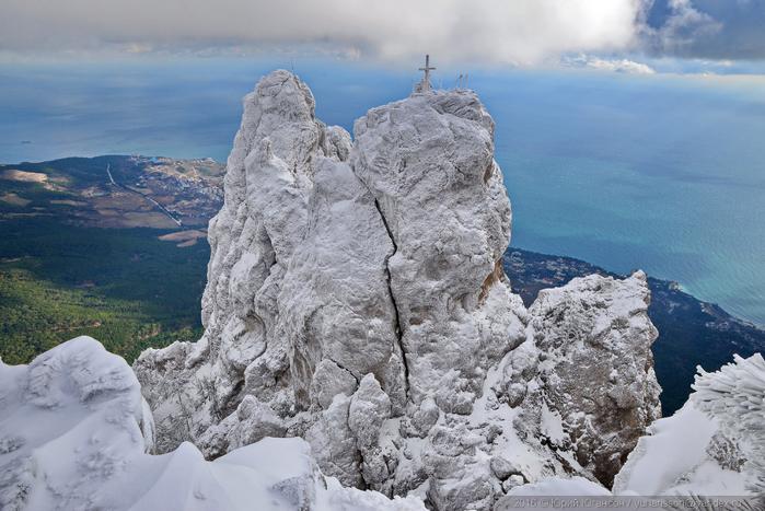 ай-петри зимой фото 12 (700x467, 347Kb)