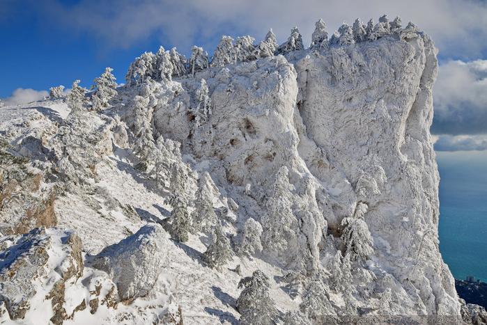 ай-петри зимой фото 15 (700x467, 414Kb)