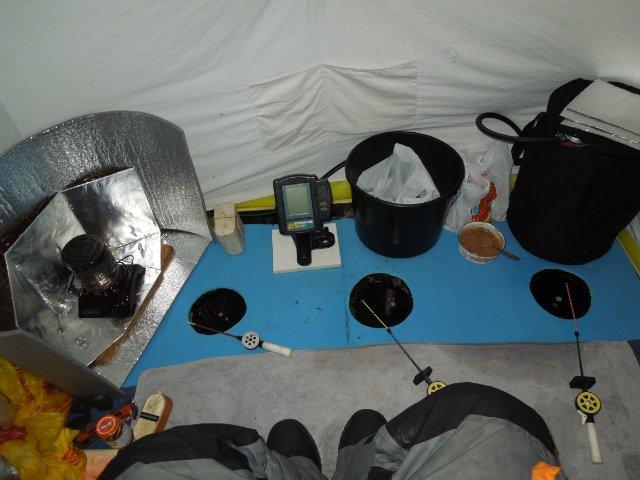 Свет в палатку для зимней рыбалки своими руками