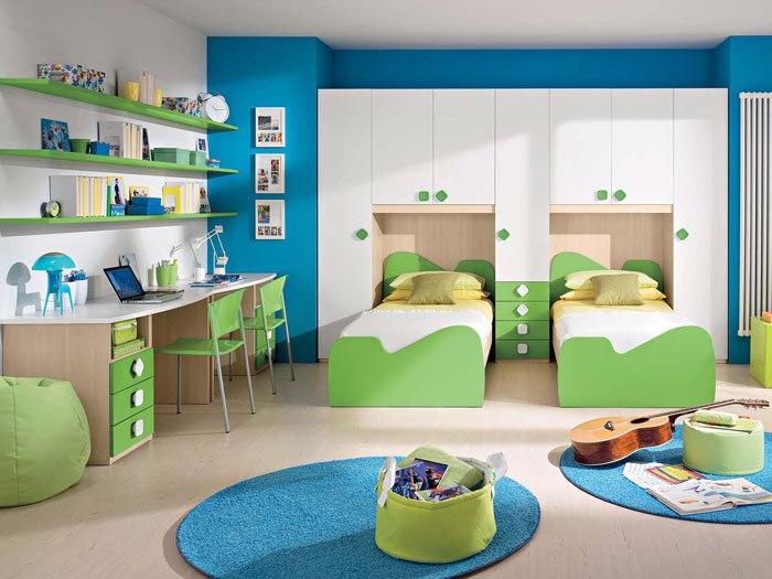 Детские комнаты (700x525, 299Kb)