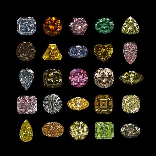 Алмазы хранят невероятные тайны - интересные факты