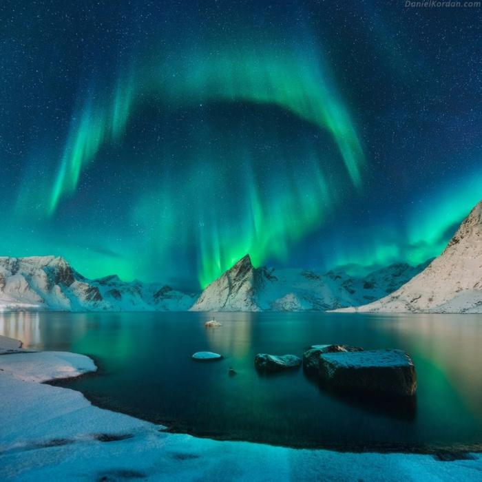 4. Норвегия. Северное сияние (700x700, 493Kb)