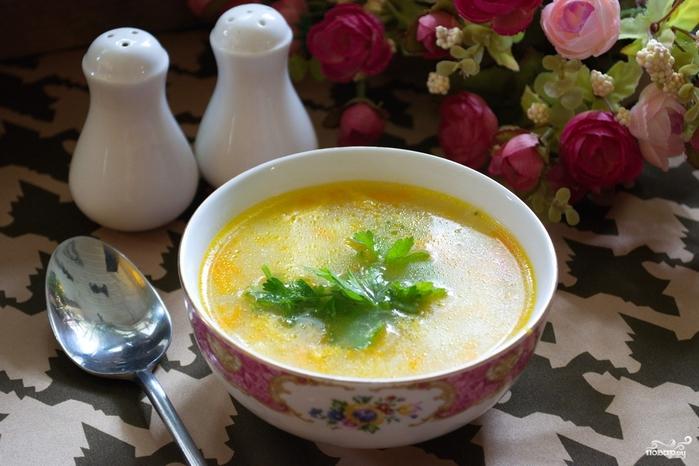 Суп затируха пошаговый рецепт с фото