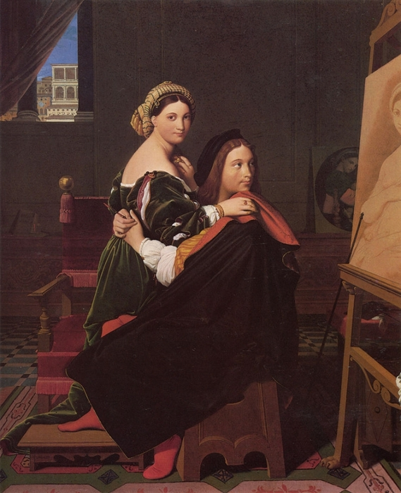 5229398_800pxJean_auguste_dominique_ingres_raphael_and_the_fornarina (569x700, 273Kb)