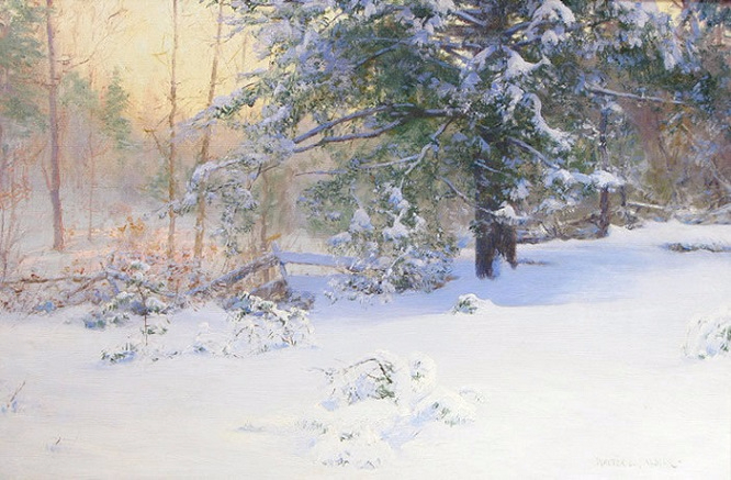 The First Snow, 1898 (666x437, 326Kb)