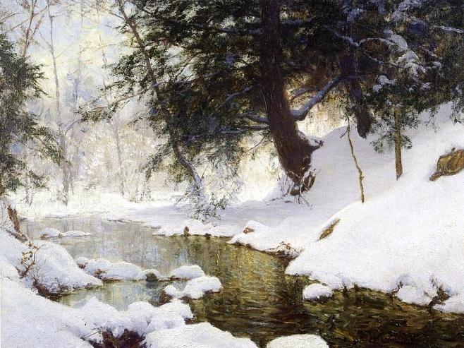Ноябрьский снег (658x493, 434Kb)