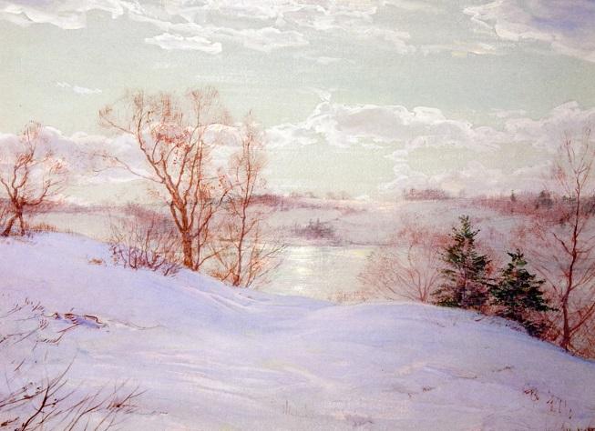 Замерзший пруд (653x474, 296Kb)