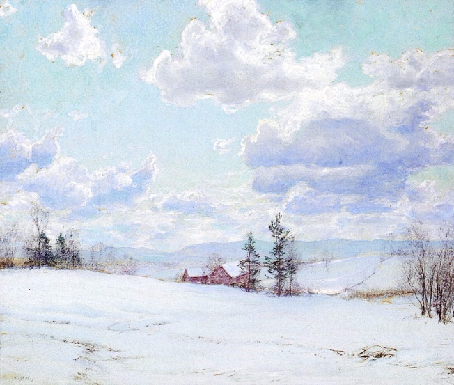 Winter Landscape (652x553, 378Kb)