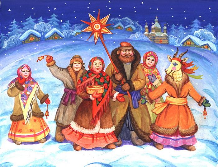 Старый Новый год. Приметы, гаданья, щедровки, посевалки