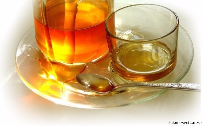 как приготовить медовую воду для выведения токсинов