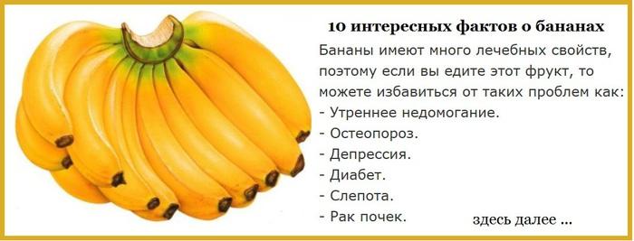 это 5 интересных фактов о банане часть декабря Фантьете