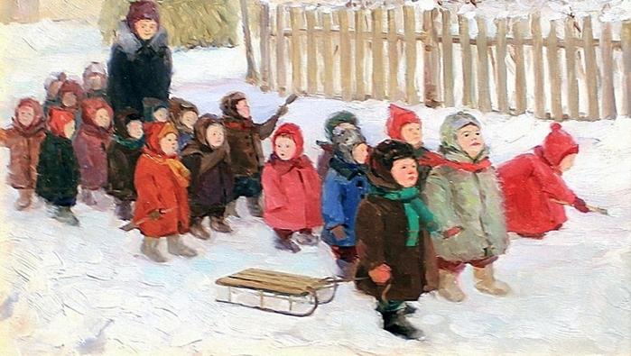 5107871_1954_Razymovskaya_Uliya_Vasilevna_18961987_Detskii_sad_na_progylke (700x395, 240Kb)