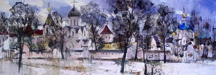 Творчество белорусского художника Василия Пешкуна