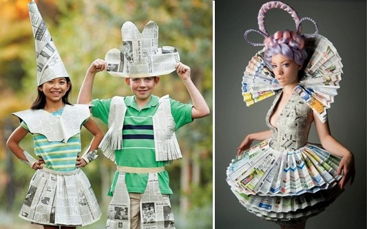 Необычные платья из бумаги. Обсуждение на LiveInternet - Российский Сервис Онлайн-Дневников