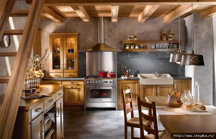 фото маленькой кухни в стиле прованс фото