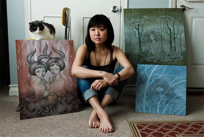 Творчество японской художницы Одри Кавасаки