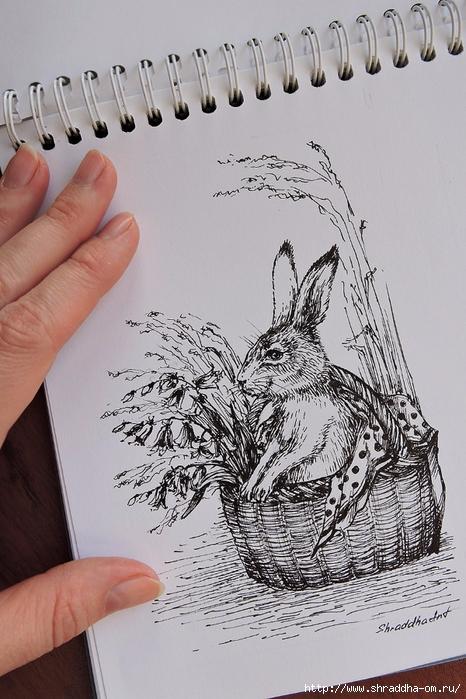 Сюрприз в корзинке Кролик от Shraddha (1) (466x700, 286Kb)