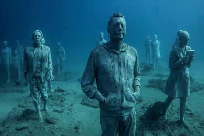 подводный музей Atlantico 3 (700x466, 296Kb)