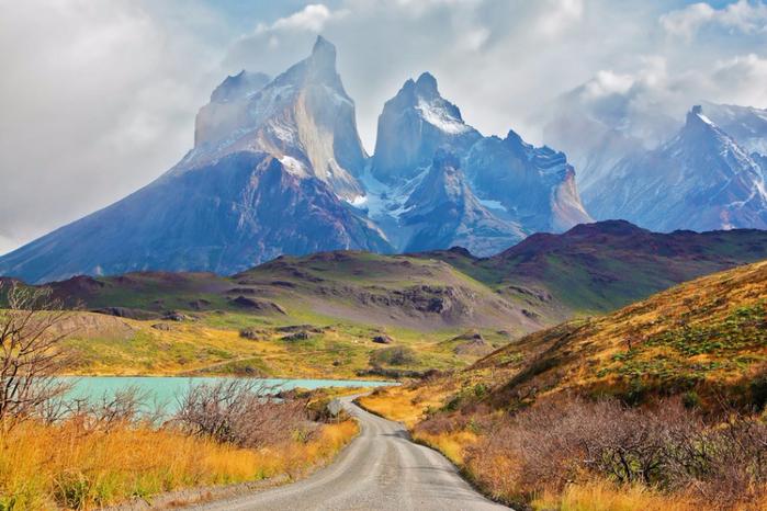 3. Торрес-дель-Пайне, Чили (700x466, 414Kb)