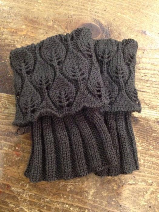 """针织装饰:""""冬天的鞋套"""" - maomao - 我随心动"""