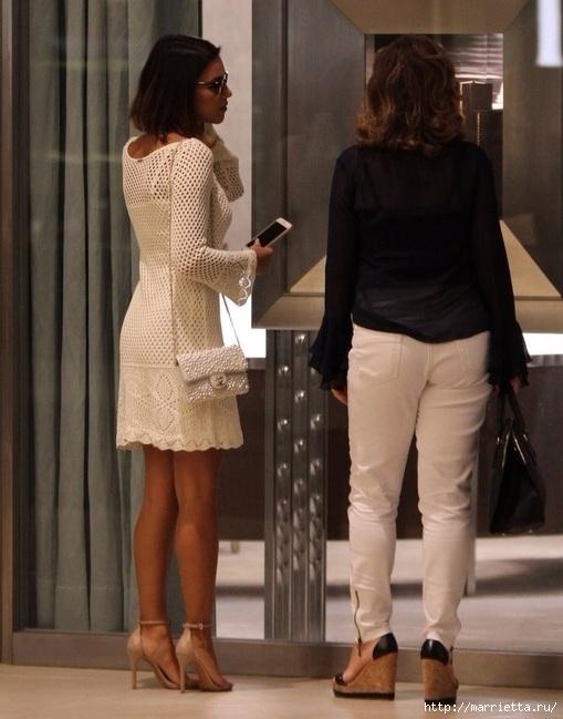 Белое платье спицами. Ищу схему (3) (509x649, 185Kb)