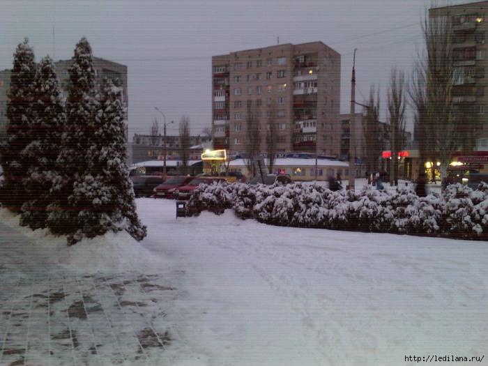 зима Северодонецк