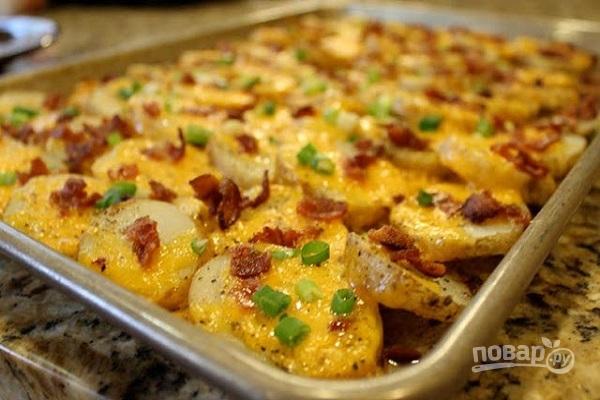 просто картофель в рукаве фото рецепт
