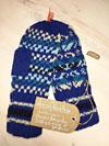 Веселые рукавички (веселые варежки) из натуральной шерсти