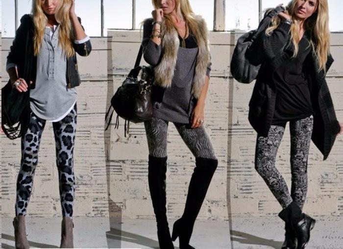 Леггинсы - модная тенденция сезона 2017 года