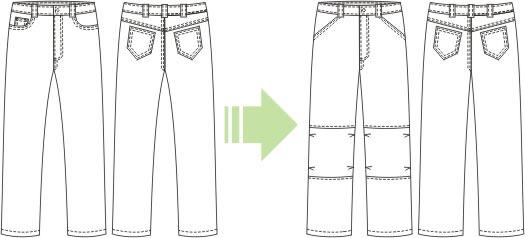 выкройка брюк из выкройки джинсов/4124452_4232 (525x238, 26Kb)