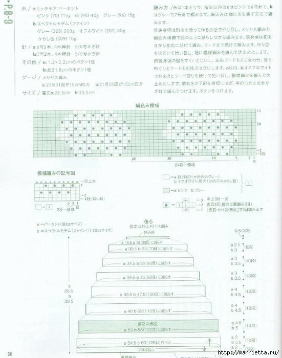 Вязание спицами для девочек. Модели с овечками и кошечкой (2) (551x700, 236Kb)