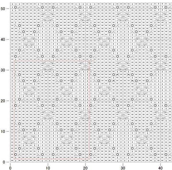 漂亮的针织拼图图案(海伦收藏) - maomao - 我随心动