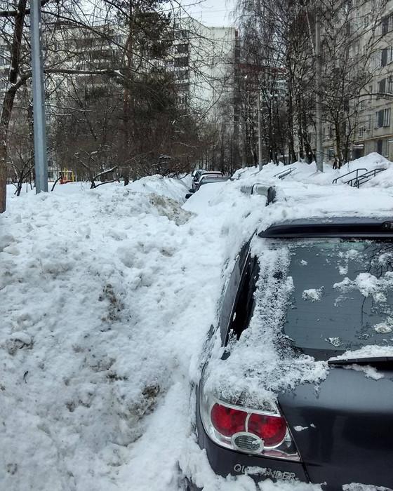 Суровые московские дворники