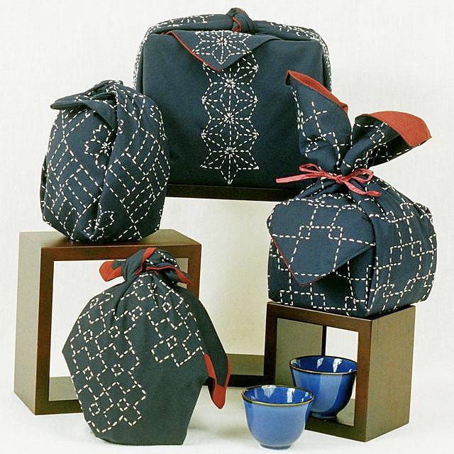 Вышивка на ткани японская вышивка сашико