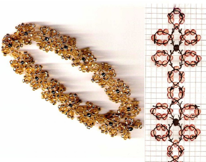бисер серьги 11 (700x550, 375Kb)