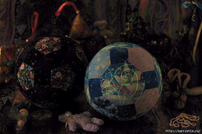 Пэчворковые шары к Новому Году. Мастер-класс №2 (6) (700x465, 267Kb)