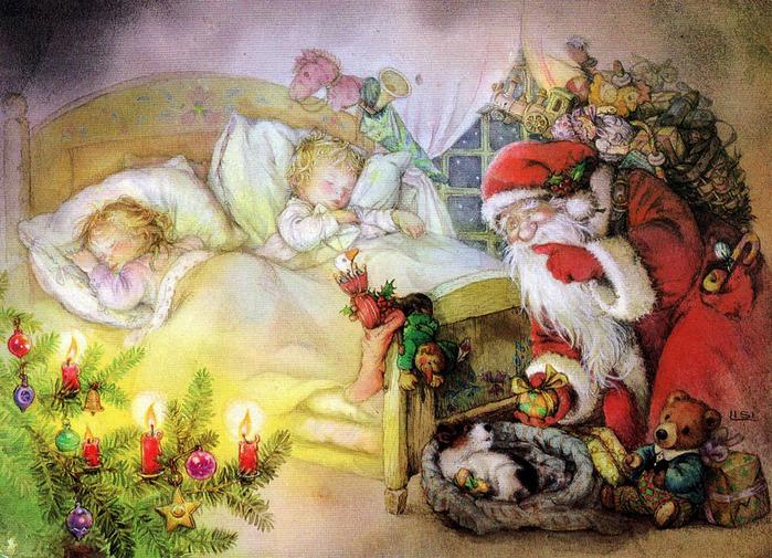 Рождественские ангелы, ангелы