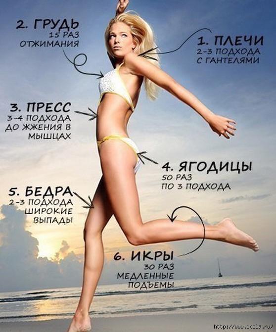 """alt=""""Хочешь быть красивой? Будь всегда в форме!""""/2835299_stroinost (558x671, 199Kb)"""