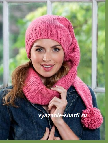 3937411_vyazanijshapkosharfspicami (374x497, 34Kb)