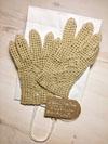 Льняные перчатки для девушек