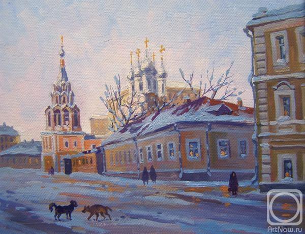 Москва. Полянка (600x461, 175Kb)